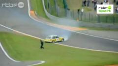 Incident lors des World Series  Spa