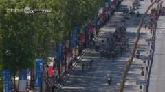 La victoire de Cavendish sur les Champs Elyses