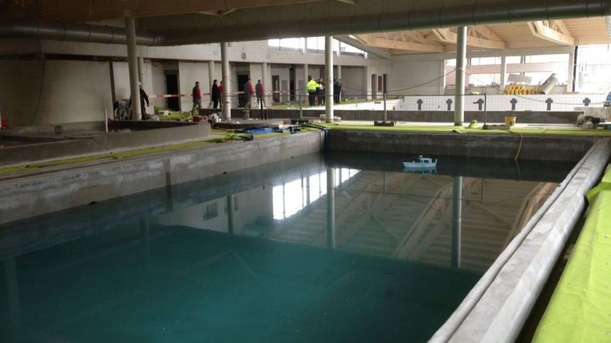 La nouvelle piscine de braine le comte bient t pr te for Construction piscine brabant wallon
