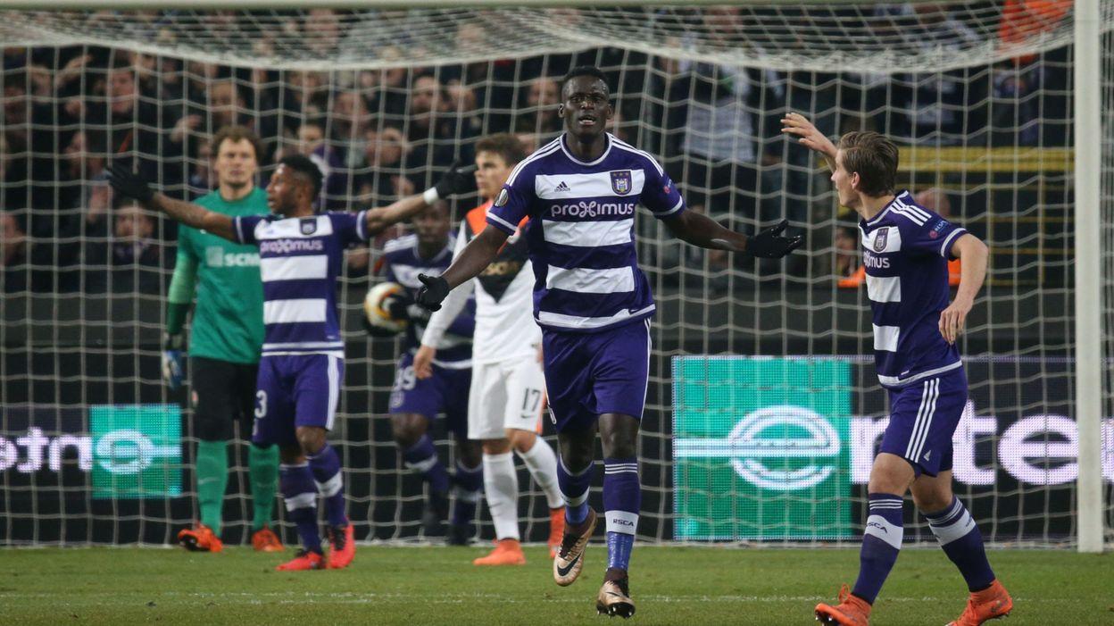 La marche était trop haute pour Anderlecht, éliminé (0-1)