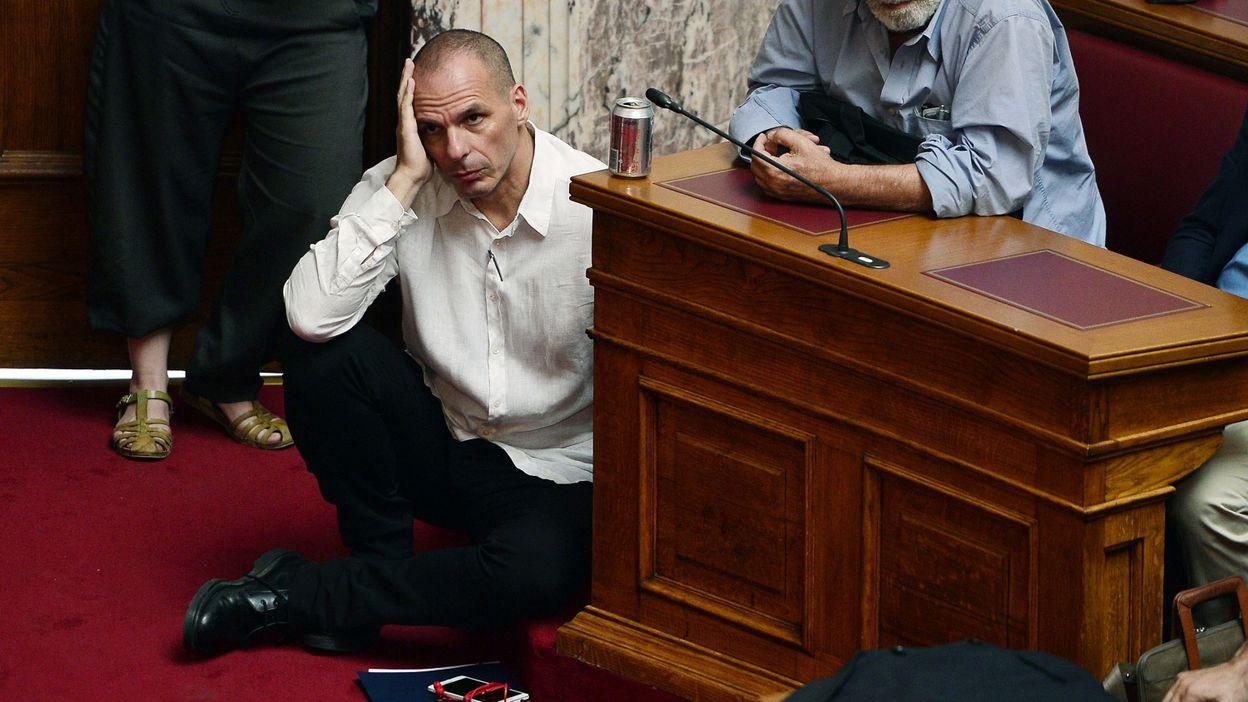 Un Yanis Varoufakis amer envers l'Allemagne.