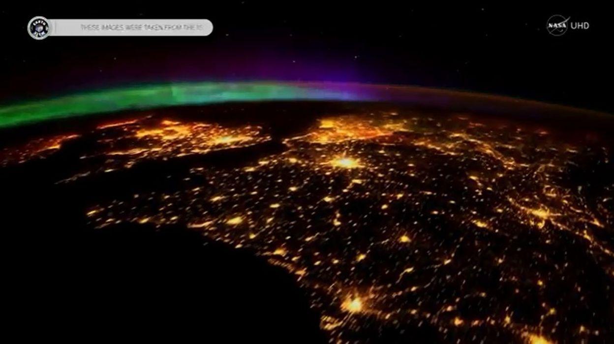 Une superbe aurore bor ale film e en ultra haute for Insolite definition