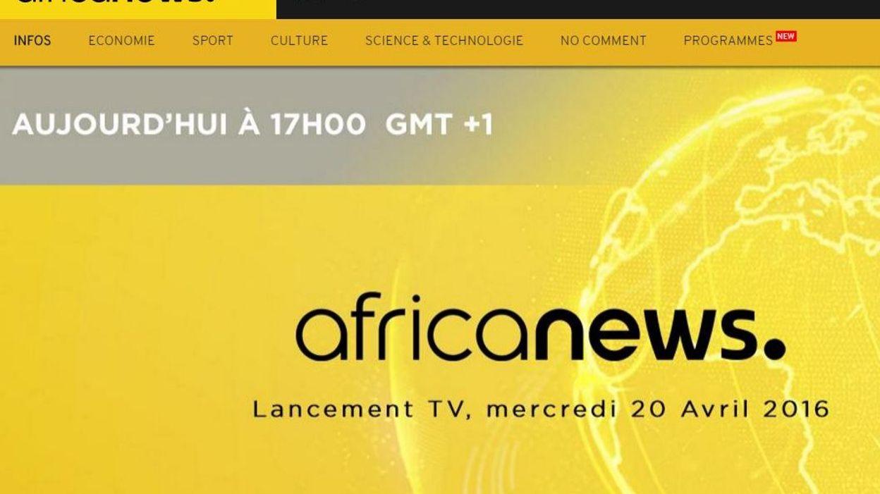 lancement d 39 africanews une cha ne panafricaine d 39 information en continu. Black Bedroom Furniture Sets. Home Design Ideas