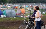 Le camping de Kiewit dévasté par la tempête