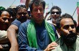 Imran Khan en meeting à Lahore le 7 mai 2013