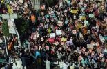 Manifestation à Lahore, au Pakistan
