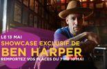 Le showcase exclusif de Ben Harper