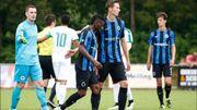 Bruges s'impose contre un adversaire particulier en amical