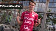 Davy De fauw quitte le FC Bruges et retourne à Zulte Waregem
