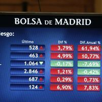 La Bourse de Madrid