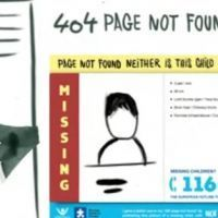 """Not Found"" : un projet-pilote lanc� par Missing Children Europe et Child Focus"