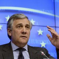 Le commissaire européen Antonio Tajani.
