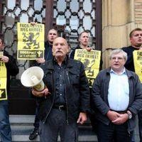 Des activistes du Voorpost appellent à la suppression des facilités pour les francophones de la périphérie bruxelloise
