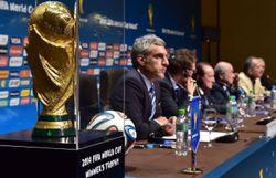 Le trophée réservé aux vainqueurs de la Coupe du Monde