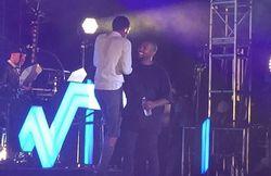 Stromae + Kanye West sur la même scène