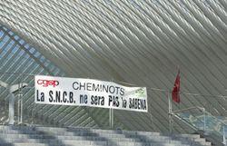 Grève à la SNCB jusque vendredi matin au moins: 1 train sur 10 en Wallonie, environ 1 sur 2 en Flandre