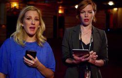 Ellie Goulding porte des survêtements en toute circonstance dans une vidéo parodique