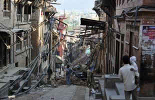 Séisme au Népal: le dernier bilan fait état de plus de 4000 morts