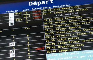 Fortes perturbations sur le rail à proximité de Liège, selon Infrabel