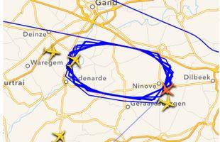 Un avion US Airways contraint de tourner au-dessus de l'aéroport de Zaventem