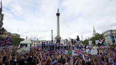 """Londres a fêté les héros de """"ses"""" Jeux"""