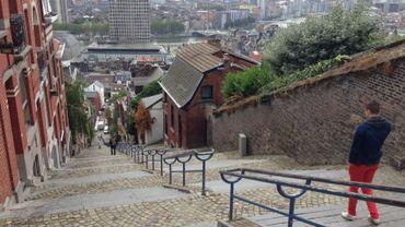 """Liège: les escaliers de Bueren élus """"les plus extrêmes du monde"""""""