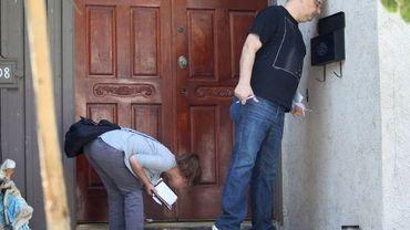 Des journalistes inspectent la maison de Nakoula Basseley Nakoula