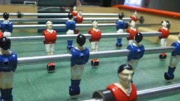 Les Belges, champions du Monde de baby-foot