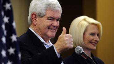 Newt Gingrich est sorti vainqueur du scrutin en Caroline du Sud.