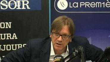 """Pour Guy Verhofstadt, """"N-VA et extrême-droite: c'est la même chose !"""""""