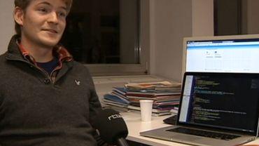 Frédéric Jacobs présente son application
