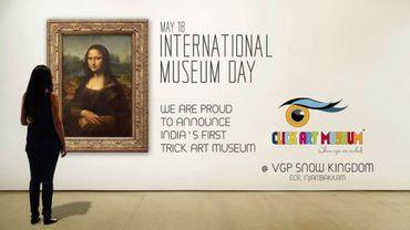 Le Click Art Museum a été inauguré courant mai à Chennai, en Inde