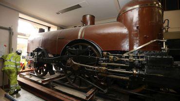 """""""Pays de Waes"""", la plus vieille locomotive de Belgique au Train World"""