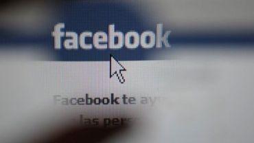La page d'accueil du réseau social Facebook