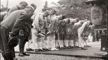 Photos d'un groupe des Jeunesses hitlériennes lors d'un voyage au Japon en 1938