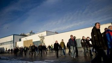 Des ouvriers quittent leur entreprise en Suède