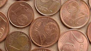 Koen Geens étudie une extinction des pièces de 1 et 2 centimes d'euro en arrondissant le total à payer