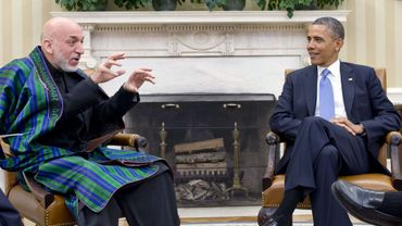 La CIA a bien donné de l'argent à la présidence afghane a reconnu Hamid  Karzaï