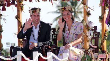 Les ducs de Cambridge à Tuvalu