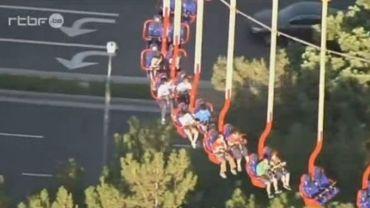 Une vingtaine de personnes sont restées coincées les pieds dans le vide à 100 mètres de hauteur