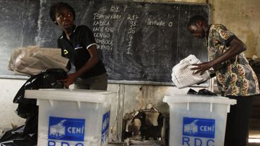 Lors des élections en RDC