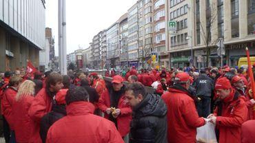 La manifestation se déroulera entre autres sur le Boulevard Tirou à Charleroi (archives)