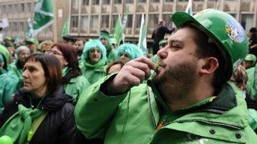 Manifestation du secteur non-marchand mardi à Bruxelles