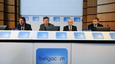 Belgacom: un bénéfice net à 711 millions d'euros, en léger recul