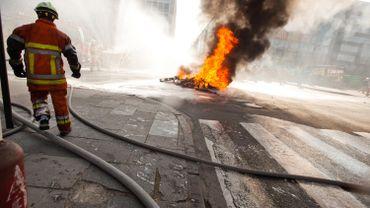 Jusqu'à l'adoption d'un nouveau cadre linguistique, recrutements et promotions étaient bloquées au service d'incendie et d'aide médicale urgente de la Région bruxelloise