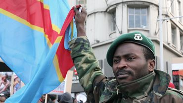 Illustration - Photo d'archive: Manifestation de quelques centaines de Congolais contre Kabila à Bruxelles