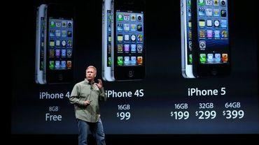 Phil Schiller d'Apple présente l'iPhone 5