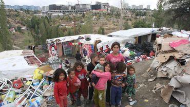 Comme ces enfants réfugiés en Turquie, 4,25 millions de Syriens supplémentaires fuiront la guerre en 2014