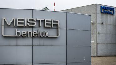 Le site de Meister, à Sprimont, est à l'arrêt depuis trois semaines déjà.