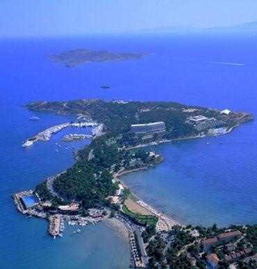La péninsule d'Astir Vouliagmenis
